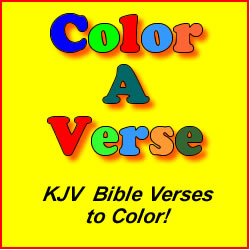 Color A Verse Bible Coloring Book