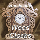 Go to an Etsy.com store where handmade clocks and wood products are sold.