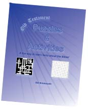 Old Testament Puzzles & Activities